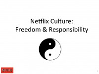 NetFlix's Amazing Culture Document